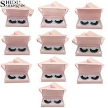 SHIDISHANGPIN 3d mink false eyelashes natural long makeup full strip lashes 1cm-1.5cm 1 pair