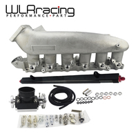 WLR RACING Cast Intake Manifold FOR Nissan 240SX RB25det RB25 Skyline + 80MM Throttle Body + Fuel Rail WLR IM32 SL+6980+5439