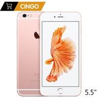 Apple iPhone 6S Plus IOS Dual Core 2 ГБ Оперативная память 16/64/128 ГБ Встроенная память 5,5 12.0MP Камера LTE мобильный телефон с разблокировкой отпечатков пальцев