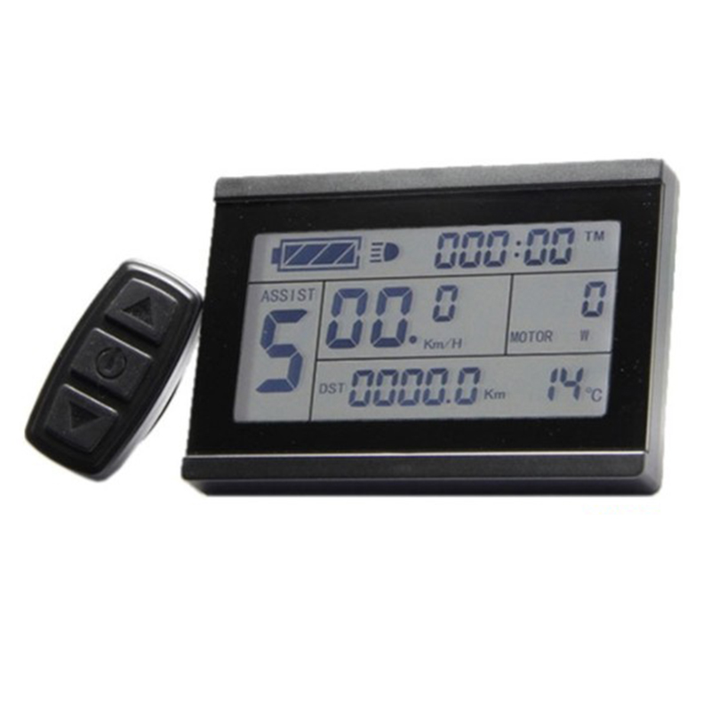 Perfect Display Monitor For Electric bike Scooter 24V 36V 48V Intelligent Control panel Black Replacement KT LCD3 LCD Module 1