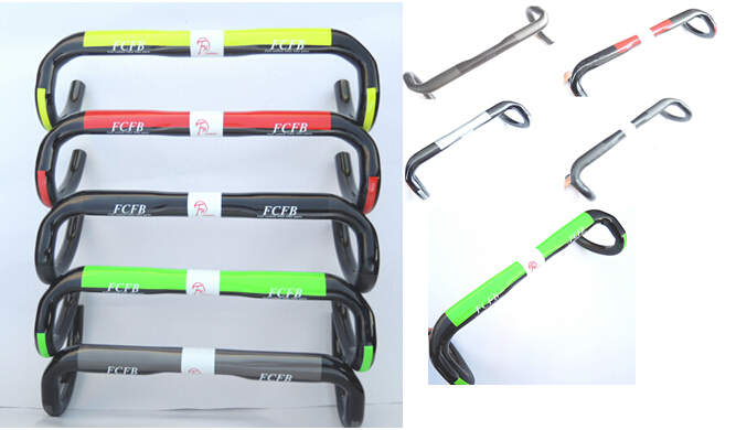 ultra-light carbon handlebar carbon bicycle parts road bike carbon handlebar bike 31.8X400MM/420MM/440MM