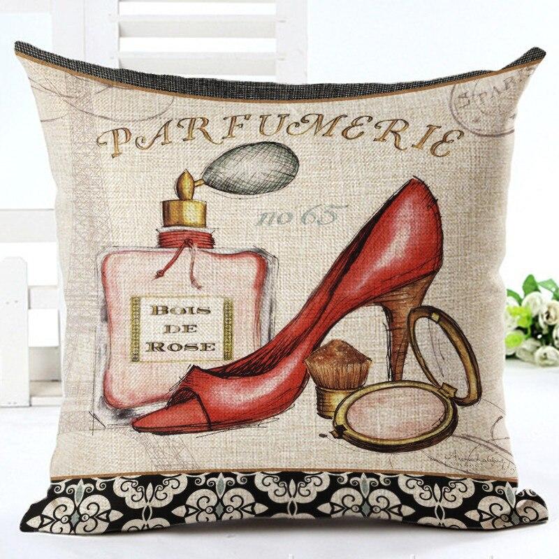 Tilgængelig Til salg Klassisk mode Burlap Pude Parfume og håndtaske - Hjem tekstil - Foto 5