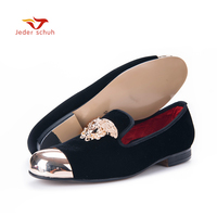 Men Shoes 2016 Italy Fashion Design Men Shoes Spring Black Dress Loafers Bright Face Men Flats