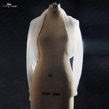RSJ105 אורגנזה שרוול ארוך חתונת בולרו