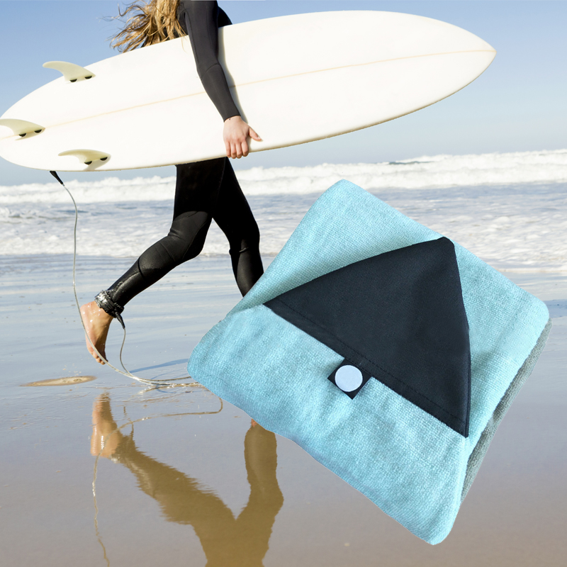 Blue Surfboard Socks Cover Surf Board Protective Bag Storage Case Water Sports Surfing Accessories 6.0ft/6.3ft/6.6ft/7.0ftBlue Surfboard Socks Cover Surf Board Protective Bag Storage Case Water Sports Surfing Accessories 6.0ft/6.3ft/6.6ft/7.0ft