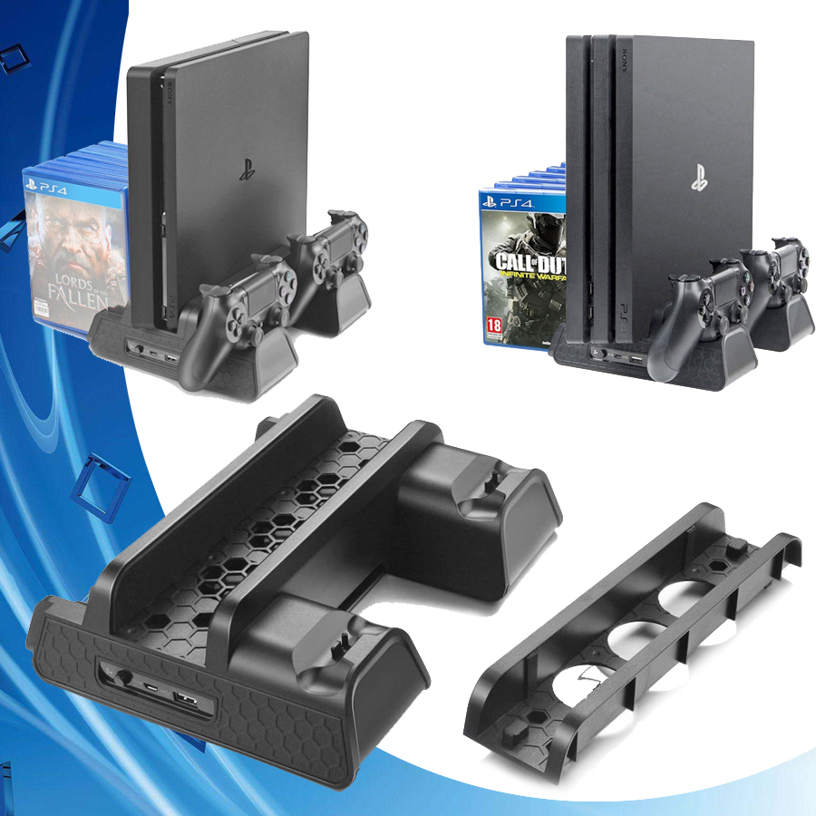 ps-4-slim-pro-vertical-stand-cooling-fan-cooler-dual-controller-charger-charging-dock-station-for-font-b-playstation-b-font-4-ps4-accessories