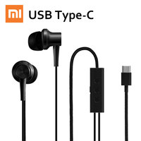 XIAOMI Mi Noise Canceling Earphone Earbuds Earpods Mic Noise Canceling Earphones USB Type C Latest 100