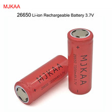 10PCS High Capacity 7200mAh 3.7V MJKAA 26650 Rechargeable Li-ion Battery Baterias Bateria