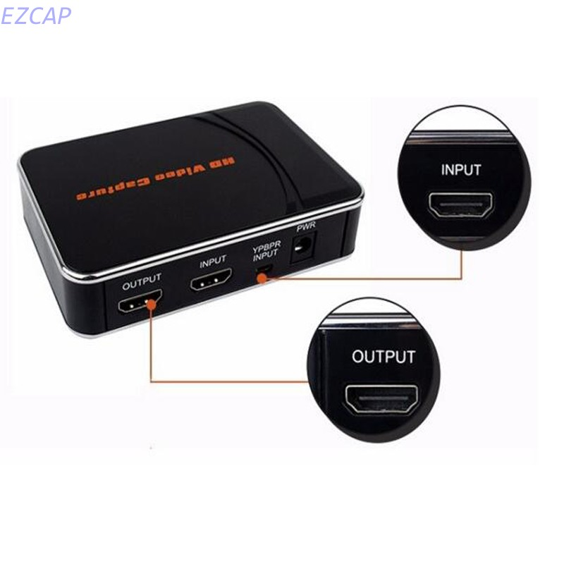 2017 New reproductor vhs, capture 1080P HDMI/YPbPr video to HDMI, USB Flash disk directly, no pc need, Free shipping б у двд рекордер vhs