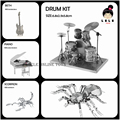 BETH,Guitar,Drum kit,Spider,Scorpion,STAG Beetle/Nano metal model DIY 3D Puzzles You like Wholesale 5PCS/1LOT 5% Discount gift
