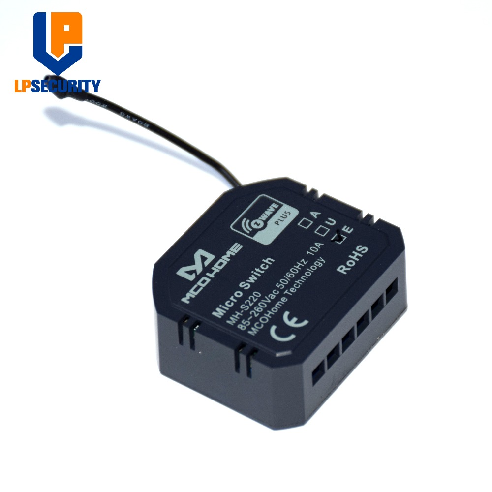 Home Automation Light Lamp Control Micro Z-wave Smart Controller Switch Micro ON/OFF Switch MH-S220 High Load