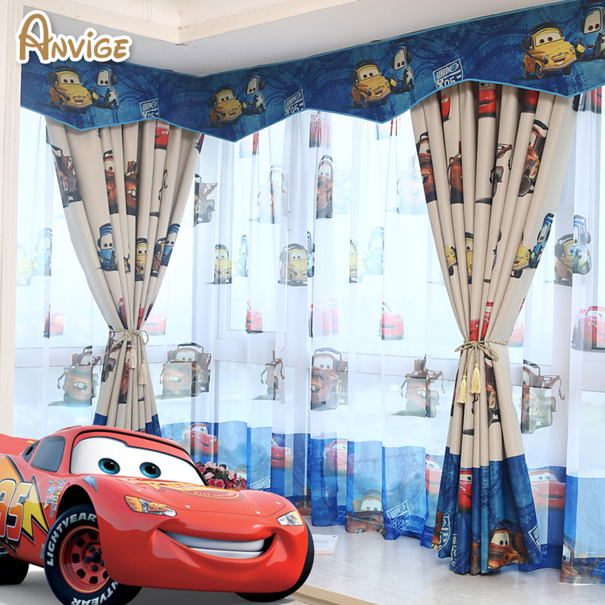 New arrival eco friendly cartoon valance curtains for kids - Tela para cortinas infantiles ...