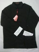 Free Shipping Black Chinese Men's Linen Kung Fu Jacket Coat Size S M L XL XXL XXXL 2973-4