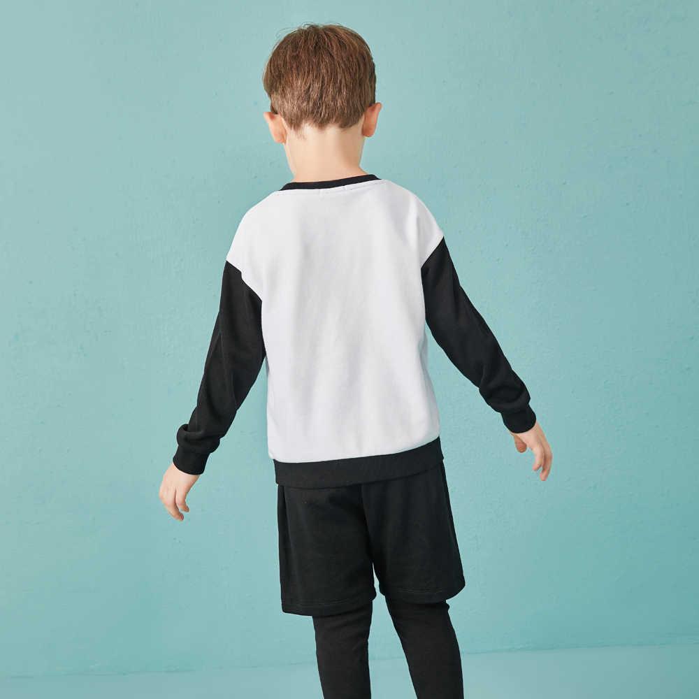 Balabala/спортивные костюмы для мальчиков; одежда для маленьких мальчиков; Детский комплект; детская одежда; спортивная одежда для мальчиков с принтом тигра; комплект одежды