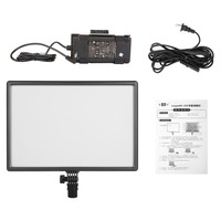 NanGuang CN LUXPAD43 Dimmable Ultra High Power Panel with AC Power Adapter Bi Color for LED Video Light