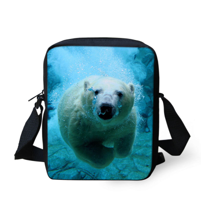 Lovely Small Children Schoolbag Kids 3D Animal Bear School Bag For Boys Kawaii Baby Kindergarten Book Bags Mochila Escolar