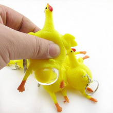 1 PC 15*7.5cm air vent decompression toys creative chicken out optional size adult wacky toy gifts Free shipping