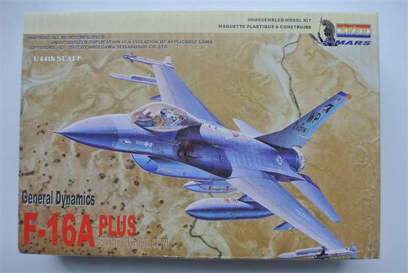 1:144 General Dynamics F-16A Plus Fighting Falcon Fighter Military Assembly Aircraft Model S-239