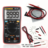 ANENG AN8009 Auto Range Digital Multimeter 9999 counts With Backlight AC/DC Ammeter Voltmeter Ohm Transistor Tester multi meter