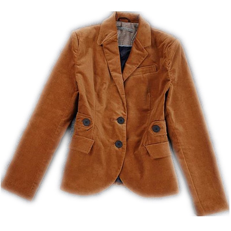 d2a769e9031 ... women Brand fashion single-breasted jacket coat corduroy suits blazer  plus size. -12%. Click to enlarge