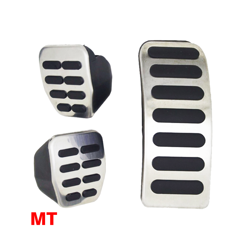Foot <font><b>Pedal</b></font> Rest Fuel Cover For <font><b>VW</b></font> Polo <font><b>Golf</b></font> 3 4 <font><b>MK4</b></font> New Beetle For Skoda Fabia 1 2 II Octavia image