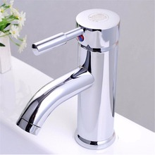 Превосходное качество и разумно в цене смеситель Chrome керамическая одной ручкой горячая холодная вода смеситель уютный смеситель