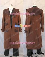 Fullmetal Alchemist Cosplay Edward elric Brown Trencas abrigo traje H008