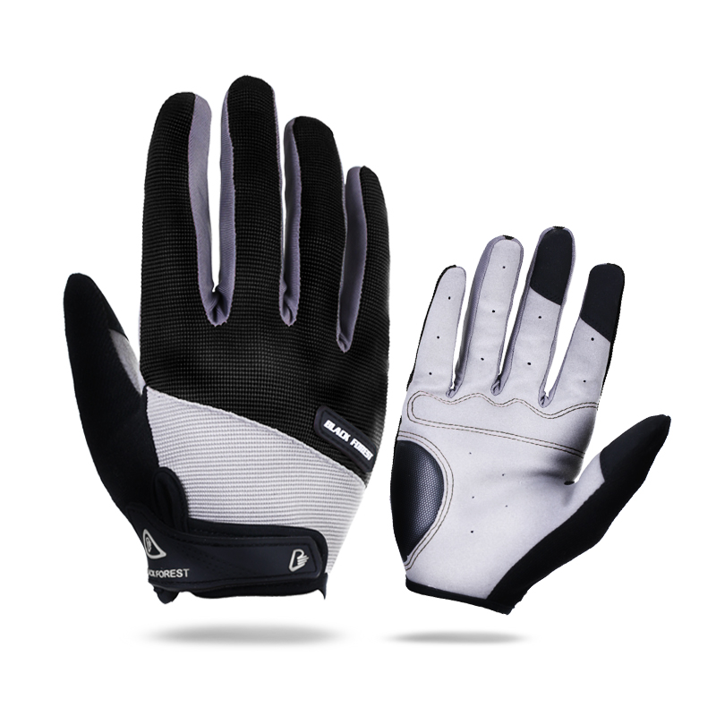 цена на Arbot Full Finger Men Women Cycling Gloves Screen Bike Bicycle Sport Shockproof Outdoor Luvas bisiklet Black Summer Glove