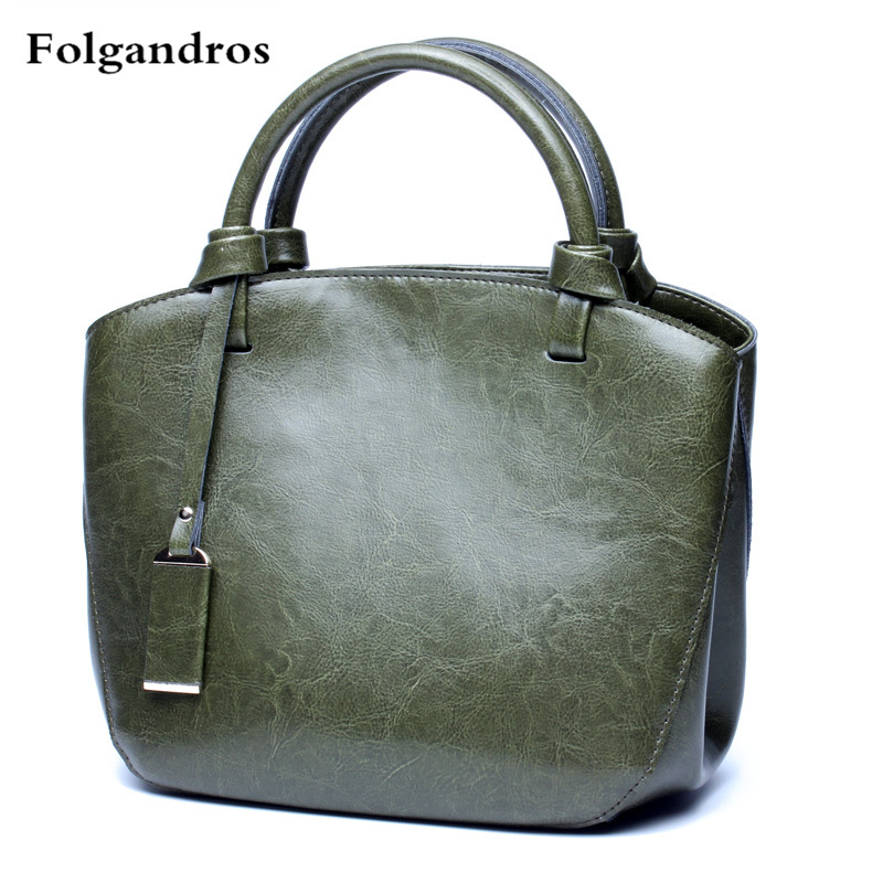 Luxury Brand Real Genuine Leather Women Handbag Shoulder Bag Cowhide Tote Bag Solid Women Messenger Bags Lady Bolsa Feminina Sac dikizfly soft genuine leather women handbags casual totes bag real leather brand work handbag purse elegant messenger bags bolsa