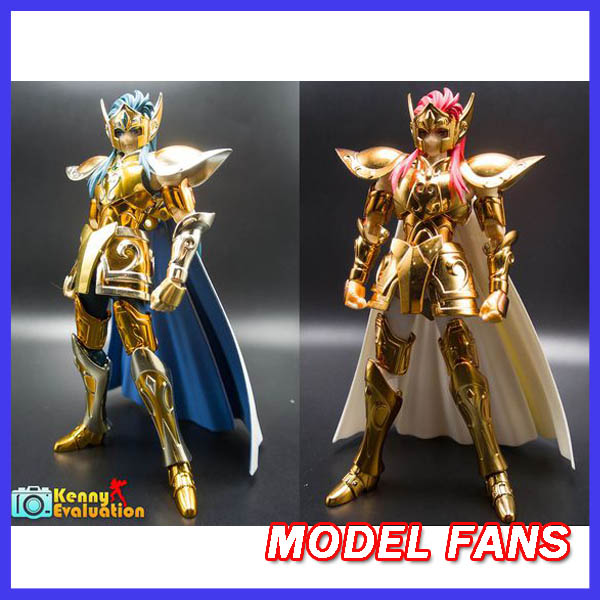 ФОТО MODEL FANS Toyzone Model Aquarius Camus Saint Seiya full metal armor Cloth Myth Gold Ex2.0 Anime and OCE  action Figure spot