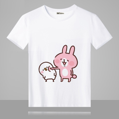 Japanese Game kanahei T-shirt Anime T shirt Summer Cotton Short-sleeve Men women Tees tops TX153