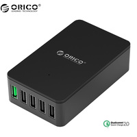 ORICO QSE Quick Charger QC2 0 4 Port Desktop USB Charger For Smartphones And Tablets With