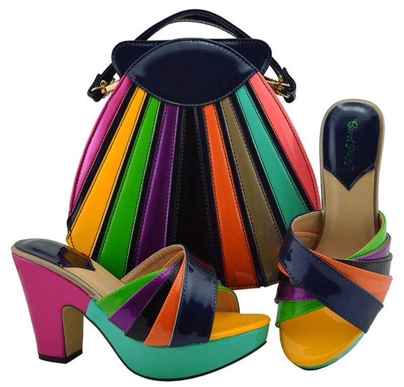 Des Sb8275 4 Et Pantoufles Correspondre Embrayages Femmes À Arrivée Pour Chaussures 2 Haute Sac Talon 2 Pouces Nouvelle Italiennes wBpZw