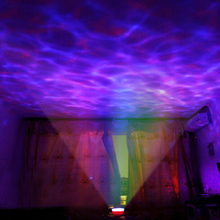Free Shipping 1 Piece Aurora Master LED Projector with MP3 Speaker, USB Ocean Wave Lamp With Speaker,Night Light,Romantic Gifit