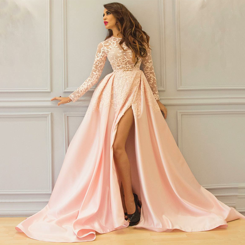 online buy wholesale thigh high slit gowns from china