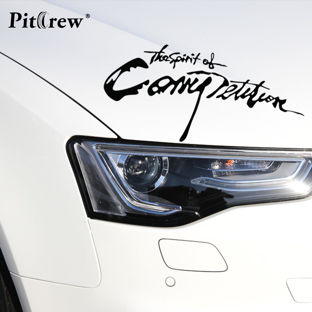 Car sticker design competition - Aliexpress Com Buy 28 13cm 2016 New Arrival Car Styling Sticker The Spirition Of Competition Car Stickers Vinyl Decal Waterproof Car Accessories From