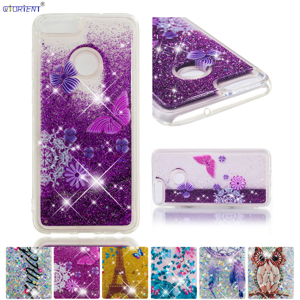 Cellphones & Telecommunications Glitter Case For Huawei P Smart Enjoy 7s Liquid Quicksand Phone Back Cover Huawei Psmart Fig-lx1 Fig-l11 Fig-l31 Silicone Funda Refreshing And Enriching The Saliva