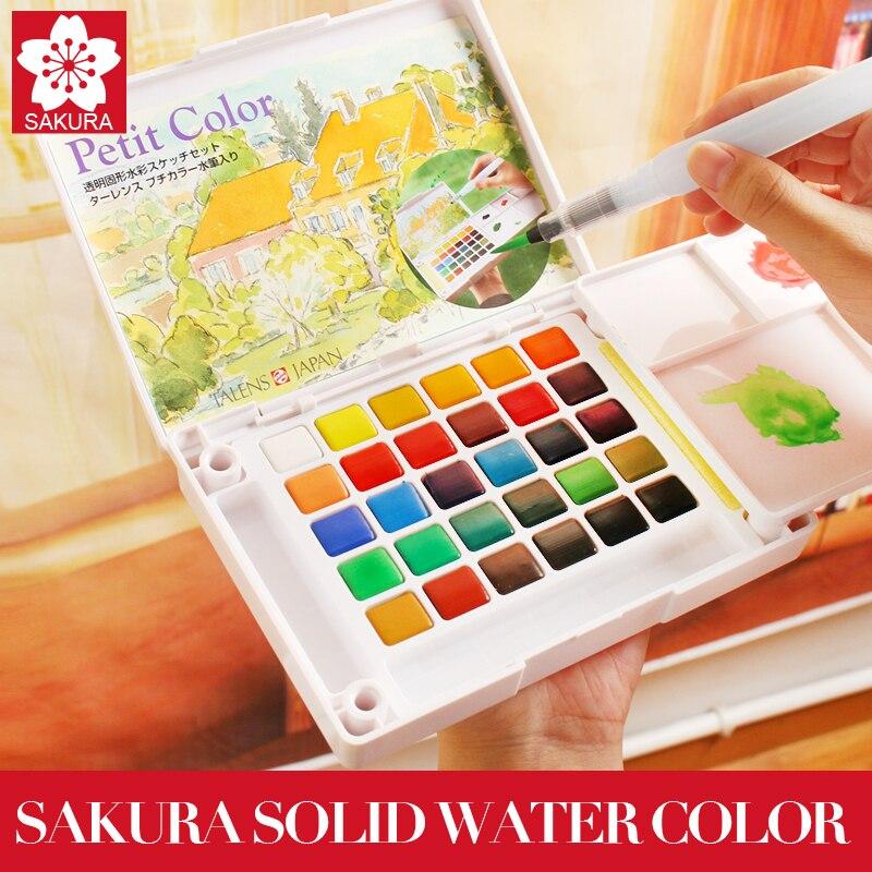 Best deal Sakura 48/60/72 Colors Watercolour Paint