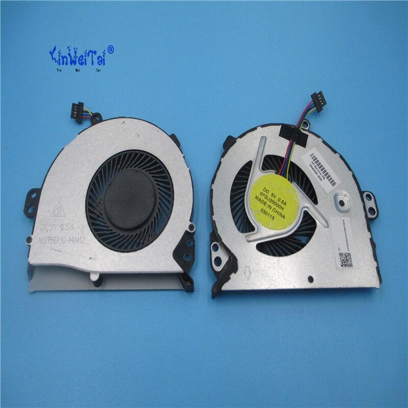 New and Original CPU fan for NS75B00-14M12 0FGJ20000H 5v cooling fan new original cylinder scm 00 20d 75