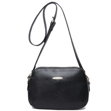Women Real Genuine Leather Messenger Bag 2017 Fashion Shell Crossbody Shoulder Bags Bolsos Mujer Small Handbags Famous Brand