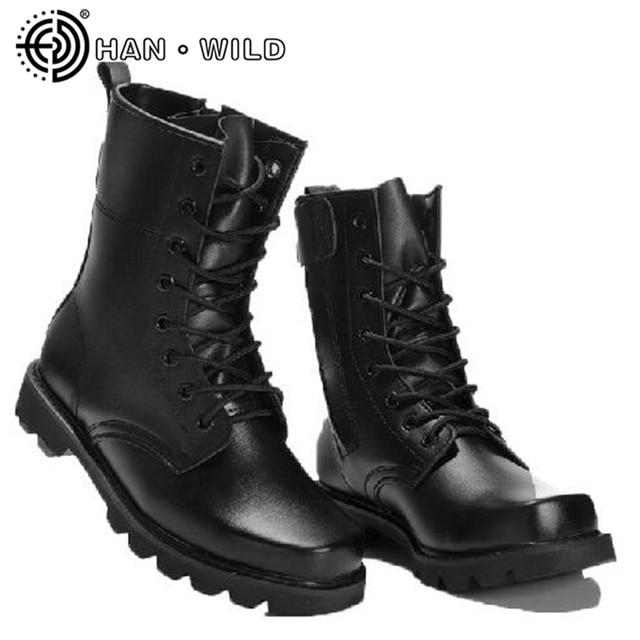 Zapatos negros estilo militar Kombat Uk para hombre WKVJfdN