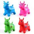 Nova Chegada 4 tipos de animais cavalo de salto pulando veados brinquedos infláveis de salto das Crianças