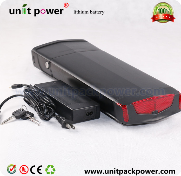 Electric bike battery 36v 13ah e-bike battery 36v  rear rack lithium battery with charger 36v 8ah lithium ion battery 36v 8ah electric bike battery 36v 500w battery with pvc case 15a bms 42v charger free shipping