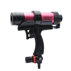 Pistola de pegamento de vidrio de velocidad suave pistola de goma neumática ajustable herramientas de pegamento de presión de viento herramienta de reparación de artesanía