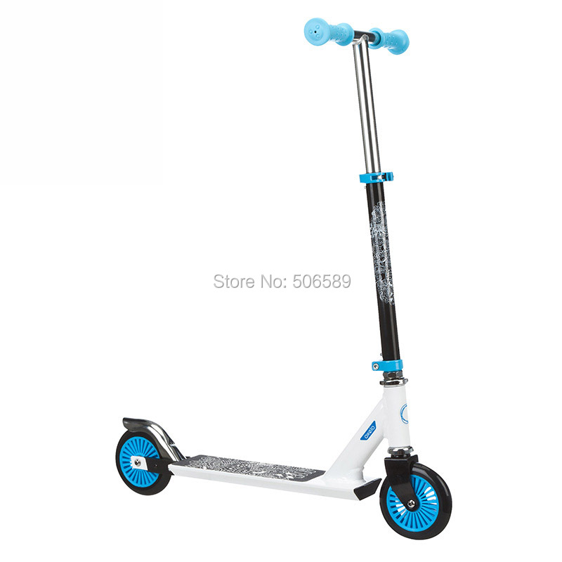 free shipping children's scooter user age 5-8 years old 2 wheels blue play3 height 52-66cm free shipping children s scooter user age 2 5 years old 3 wheels blue pink