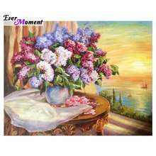 5d diy diamond painting flowers crystal broderie diamant mosaic painting diamond embroidery beaded embroidery stickers ASF586(China)