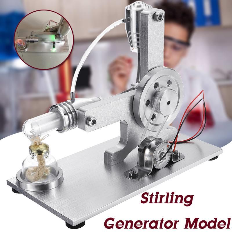 Mini bricolage l-style Air chaud Stirling moteur moteur modèle éducatif vapeur puissance jouet électricité apprentissage modèle jouet pour enfants enfant