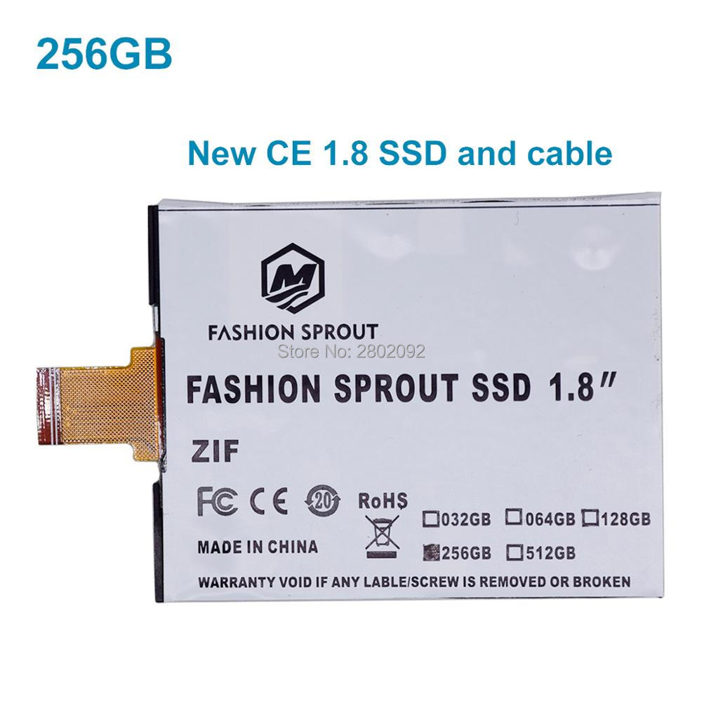 new SSD For iPod Classic VIDEO 256GB SSD 1.8inch ce/zif solid state drivese REPLACE mk3008gal mk8022gaa mk1231gal mk1634gal