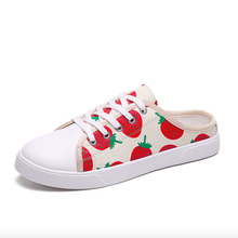 Women Sneakers 2019 Spring Casual Women Canvas Shoes Flats P