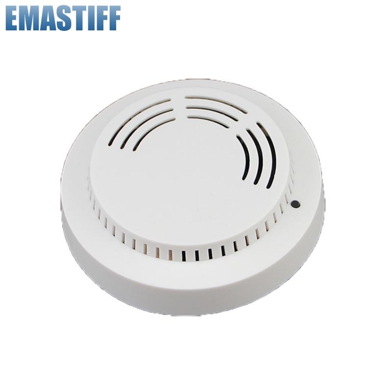 Promote Wireless 868MHZ Fire Alarm Sensor&smoke Alarm Detector, Fire Smoke Alarm Detector For GSM PSTN X6 APP Touch Panel